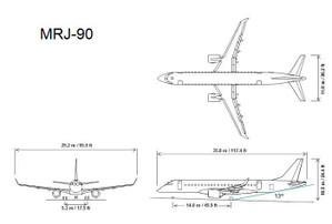 Mrj90_departure_angle